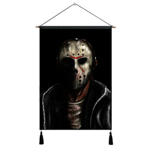Friday The 13th Wall Hangings - The Lazy Raven