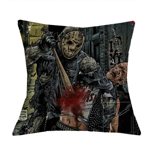 Horror Stars Pillowcases - The Lazy Raven