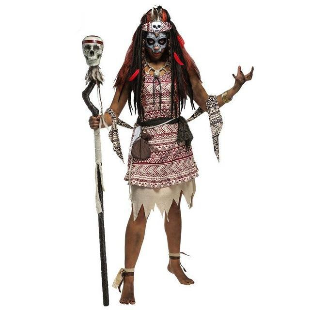 Voodoo Priest Cosplay Costume - The Lazy Raven