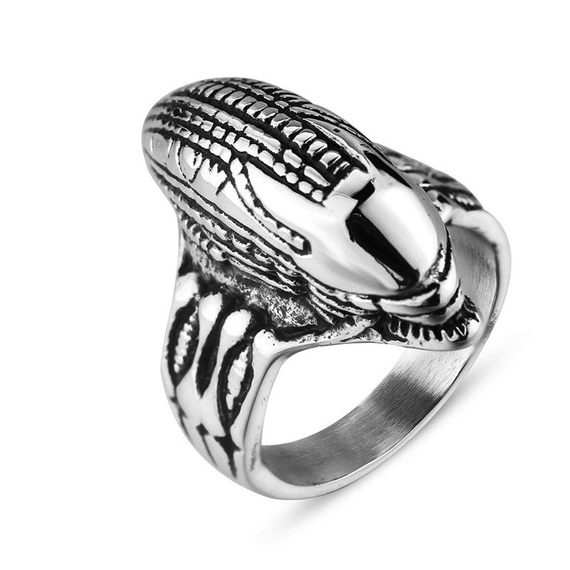 Alien Men's Ring - The Lazy Raven