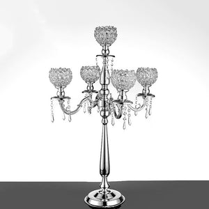 Crystal Candelabras Candle Holder - The Lazy Raven