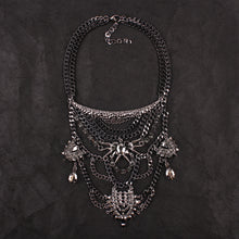 Black Garnel  Necklace - The Lazy Raven