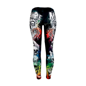 "Colorful ""Miserable"" Leggings"