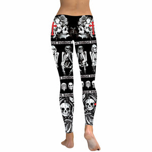 Crosses and Skull Leggings