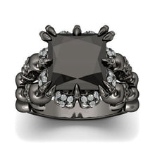 Ashes TO Ashes Ring - The Lazy Raven
