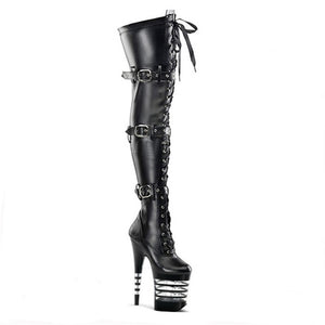 6 Inch High Heel Thigh Boots