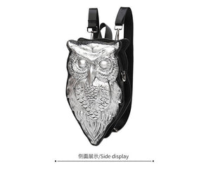 Night Owl  Leather Backpack - The Lazy Raven