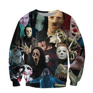 Horror Movie SLasher Collage T-shirt