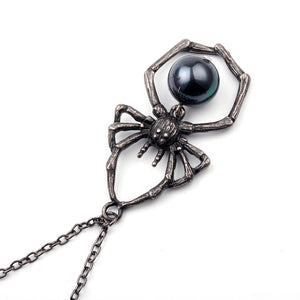 The Lazy Raven's Spider Ornament Pendant