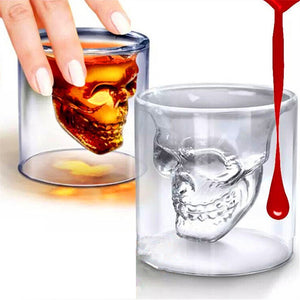 Skull Shot Glass - The Lazy Raven