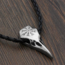 The Lazy Raven Stainless Steel Pendant
