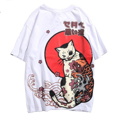 Japanese Cat T-shirt
