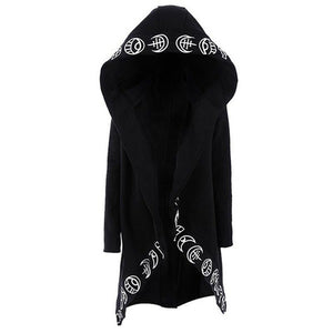 Moon Child Extra Long Hoodie