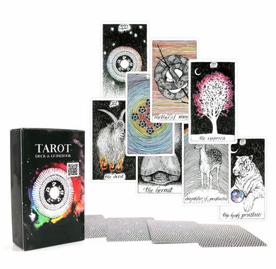 Ancient Tarot deck 78 cards
