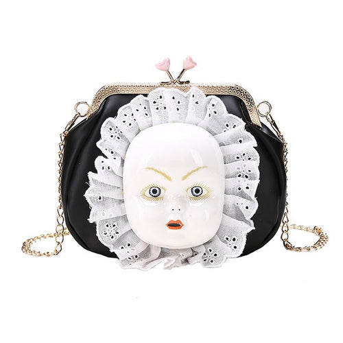 Porcelain Doll Handbag