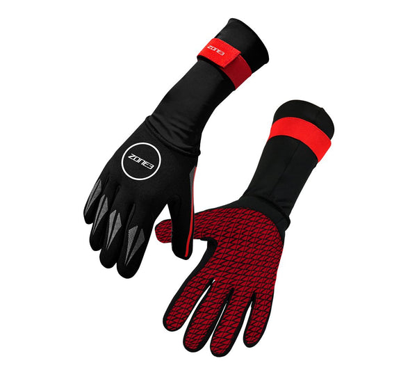 Gants de natation NEOPRENE - BLACK/RED