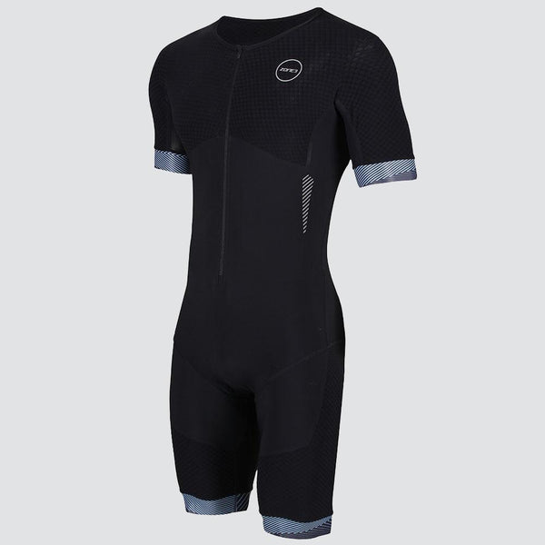 TRIFONCTION MEN'S AEROFORCE SS FRONT ZIP TRISUIT - NOIR