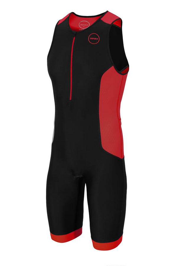 Combinaison trifonction Men's Aquaflo Plus Trisuit - NOIR/GRIS/ROUGE