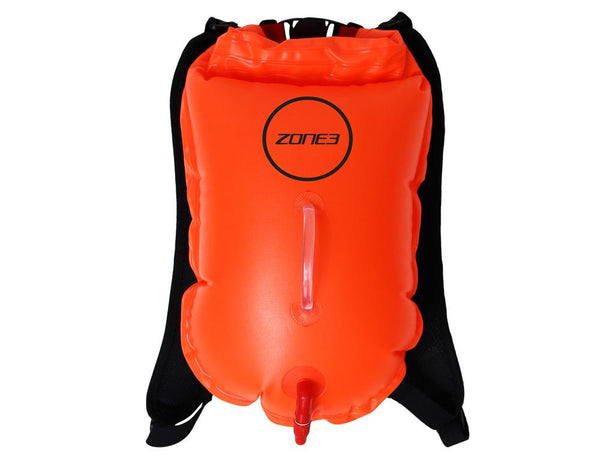 Bouée Swim Run Backpack Dry Bag 28L ORANGE