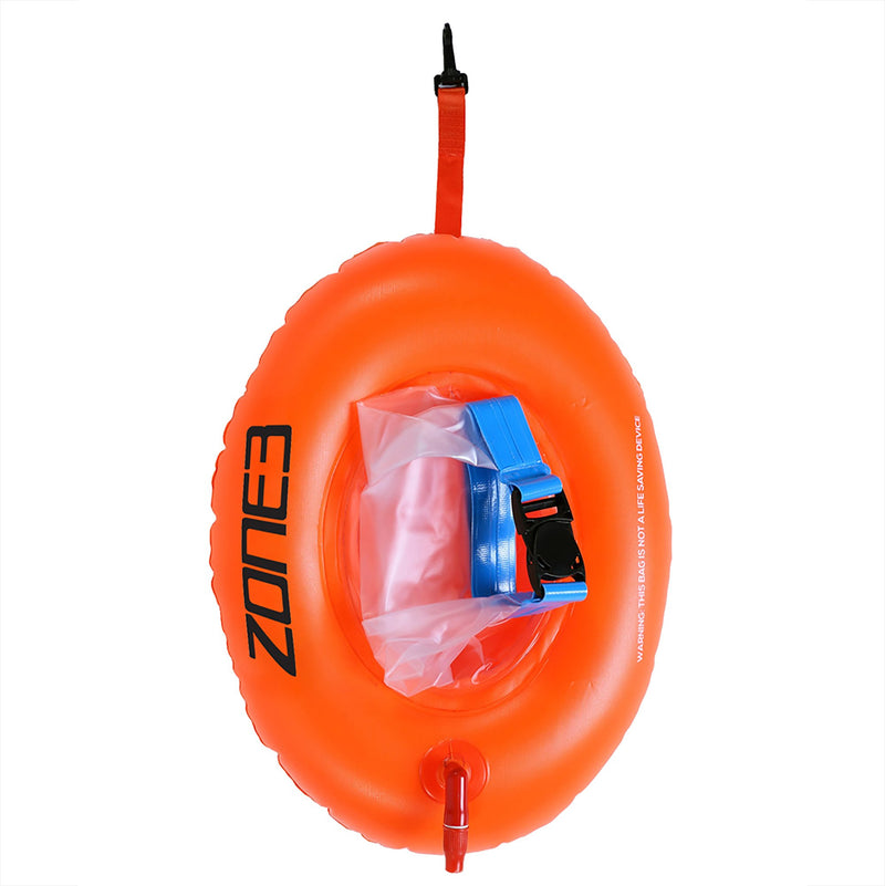 Bouée de sécurité SWIM SAFETY BUOY/DRY BAG - DONUT - ORANGE OS