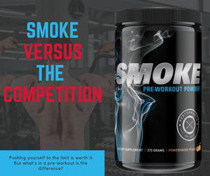 Smoke Versus The competition of pre-workouts