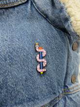 Load image into Gallery viewer, Worm Pen Enamel Pin