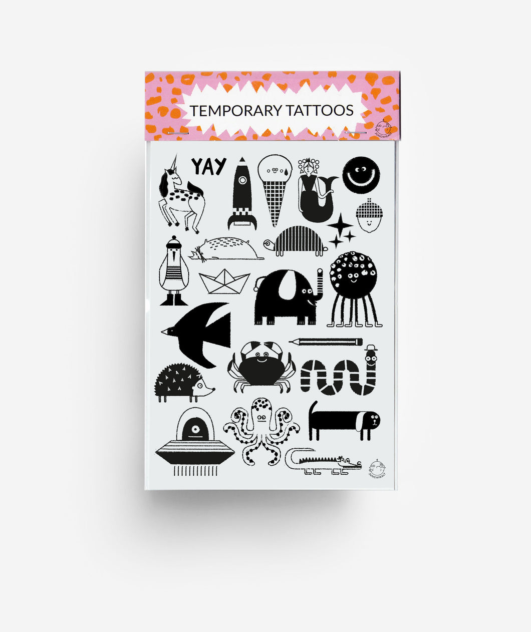 Characters A6 Temporary Tattoos