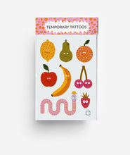 Load image into Gallery viewer, Fruits A6 Temporary Tattoos