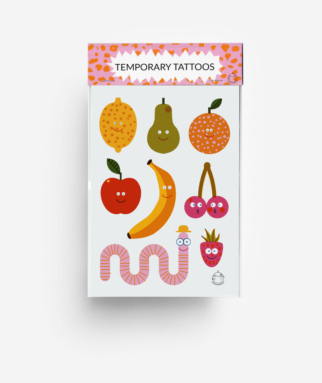 Fruits A6 Temporary Tattoos