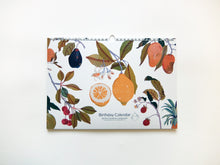Load image into Gallery viewer, Perpetual Fruits Birthday Calendar