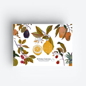 2020 Seasonal Fruit Calendar