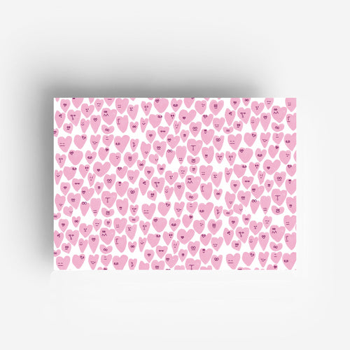 Gift Wrap Hearts Set
