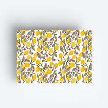 Load image into Gallery viewer, Lemons Gift Wrap Sheet