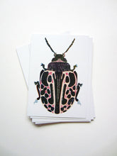 Load image into Gallery viewer, Spotted Bug Postcard DIN A6