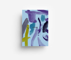 Abstract Oh Hi Postcard DIN A6