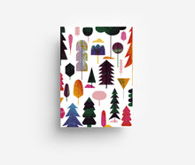 Load image into Gallery viewer, Woodland Postcard DIN A6
