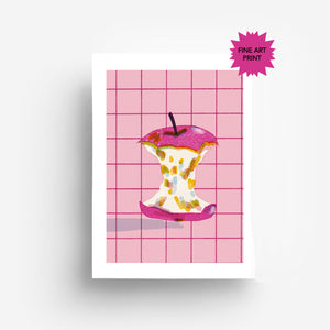 Apple Fine Art Print DIn A3