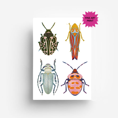 Insects Fine Art Print DIN A3