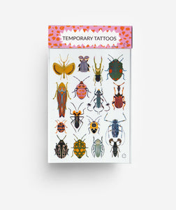 Bugs A6 Temporary Tattoos
