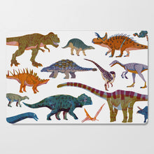 Load image into Gallery viewer, Dinosaurs Breakfast Plate Set