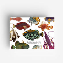 Load image into Gallery viewer, Perpetual Fish Birthday Calendar