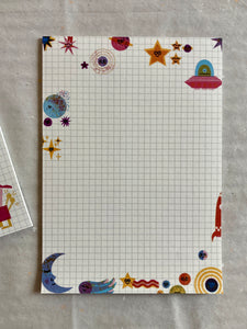 Space Note Pad