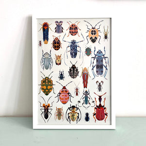 Bugs Mix Digital Print DIN A3