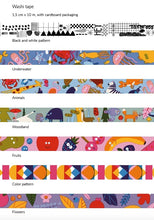 Load image into Gallery viewer, Animals Washi Tape