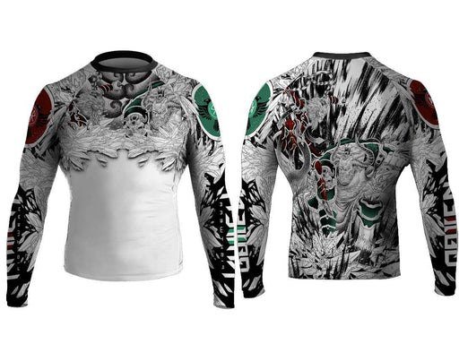Raven Battle of the Gods Monkey King and Bull King Rashguard