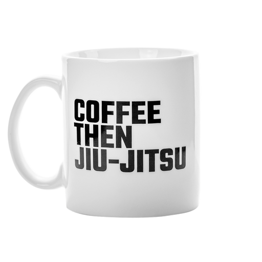 Ground Force Coffee then Jiu Jitsu Tasse