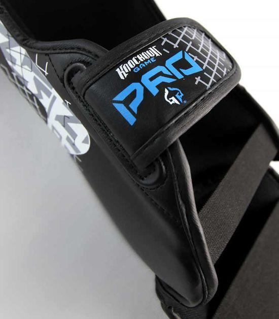 Details of a Ground Game Cage Shin Guards