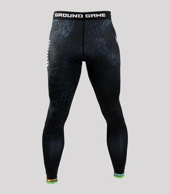 Front view of a Ground Game Carioca Leggings
