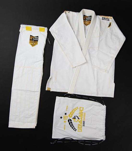 Ground Game Champion 2.0 BJJ Gi White