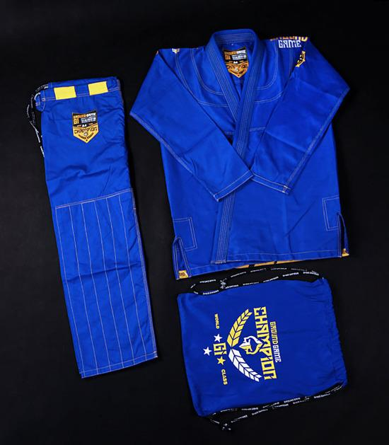 Ground Game Champion 2.0 BJJ Gi Blue